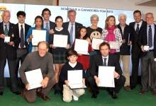 La Federación de Golf de Madrid reconoce los méritos de sus ganadores del 2015