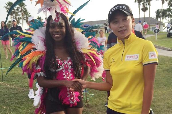 Hyo Joo Kim gana el Pure Silk Bahamas LPGA Championship. Foto: @LPGA