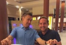 Regalo envenenado del equipo europeo de la EurAsia Cup a Ian Poulter por su 40 cumpleaños