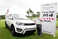 Un chaval de 12 años hace un Hoyo en Uno y gana un coche en un torneo juvenil en Malasia