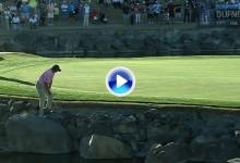 Los 10 golpes del año en el PGA: Nº 9, Esta vez el golpe imposible no fue tan imposible (VÍDEO)