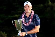 Campeón de campeones: Spieth arrasa en Hawái y suma su 7º título en el PGA con sólo 22 años