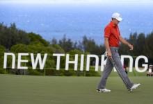 """Jordan Spieth dice """"Aloha"""" a sus rivales. El de Texas amplía su ventaja en Hawai a falta de la ronda final"""