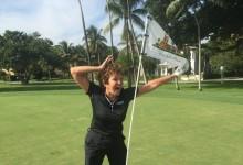 Una golfista amateur de 73 años consigue dos hoyos en uno durante la misma ronda en Florida