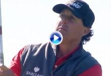 Farmers, S. Diego (J1): Resumen en el que se incluye el golpe del día a cargo de Phil Mickelson (VÍDEO)