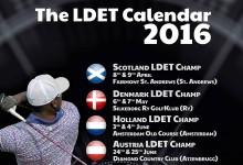 El LDET -Circuito de Bombarderos- da a conocer su calendario para 2016. Arrancará en St. Andrews