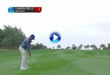 Qatar Masters (J1): Un tirazo de Rafa Cabrera-Bello entre los 5 mejores de la jornada en Doha (VÍDEO)