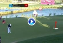 Sergio García se dejó lo mejor para el final ¡Vaya eagle se marcó el castellonense en Qatar! (VÍDEO)