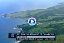 Tournament of Champions (Hawai): Resumen de los golpes destacados en su tercera jornada (VÍDEO)