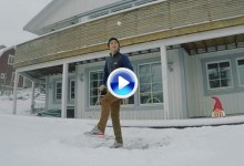 La nieve también es un buen escenario para realizar unos cuantos golpes de fantasía (VÍDEO)