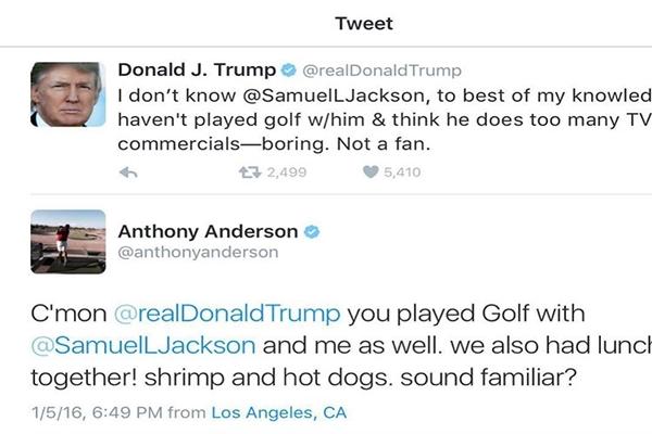 Tweets Samuel L. Jackson