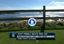 AT&T Pebble Beach (J1): Resumen con los mejores golpes -de amateurs y Pros- de la jornada (VÍDEO)