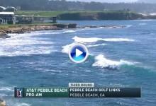 AT&T Pebble Beach (J3): Resumen con los mejores golpes – Celebridades y Pros- de la jornada (VÍDEO)