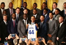Obama le recordó a Curry su triunfo en el campo de golf durante un encuentro con el campeón NBA