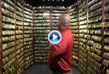 PING abre su famosa cámara acorazada de putters de oro por el 50 aniversario del Anser (VÍDEO)