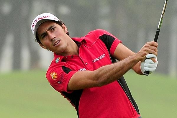 Carlos Pigem en el Bangladesh Open