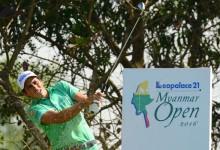 Carlos Pigem presenta credenciales de cara al fin de semana en el Myanmar Open
