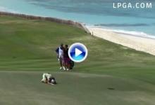 ¡Increible! Ha Na Jang entra en la historia del LPGA con el primer Hoyo en Uno  ¡en un par 4! (VÍDEO)