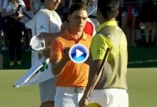 Así batió Matsuyama a Fowler en el Phoenix Open. Resumen con los golpes destacados (VÍDEO)