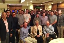 Jack & Barbara Nicklaus recibieron en su casa a los seleccionables de EE.UU. para la próxima Ryder Cup