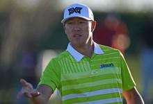 James Hahn le gana el duelo de regularidad a Rickie Fowler y lidera en solitario el Phoenix Open