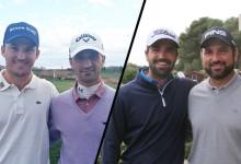 Ivó Giner y Gerard Piris ponen la directa en el torneo Fourball de las PGA's de Europa en Lumine