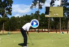 Mitchum vuelve a sorprender al mundo con otra lección de su ya famoso Trick Shot '3-putt' (VÍDEO)