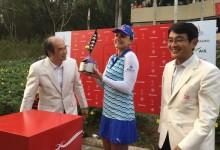 Carlota Ciganda, mejor española en Tailandia. Séptimo triunfo de Lexi Thompson en la LPGA