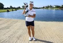 La adolescente y nº 1 del mundo, Lydia Ko, dona por completo el premio de su triunfo en Nueva Zelanda