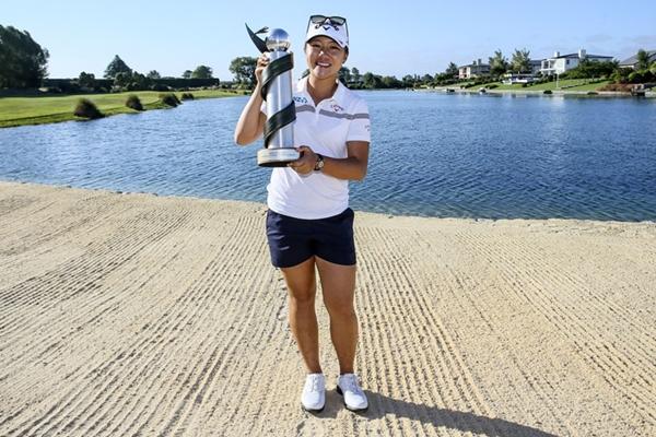 Lydia Ko, campeona en el ISPS Handa NZ Women's