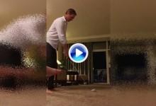 Colsaerts practicó en la habitación del hotel mandando la bola a la calle por la ventana (VÍDEO)