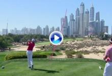Rafa Cabr.-Bello sigue enchufado. El canario estuvo muy cerca del Hoyo en Uno en Dubai (VÍDEO)