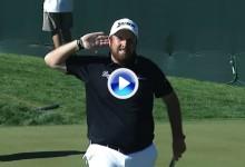 ¿Quien dijo que el golf requiere silencio? Las 22.000 almas del coliseo en Arizona no pararon (VÍDEO)