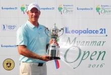 Carlos Pigem se quedó a un solo golpe del Top 20 en el Myanmar Open. El triunfo fue para «King» Norris