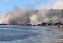 Susto para la Armada en Nueva Zelanda. Vivieron un fuerte terremoto en el campo (VÍDEO)