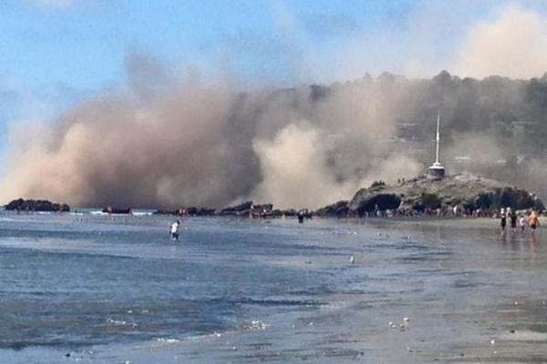 Terremoto en Nueva Zelanda. Foto @kathmandupost