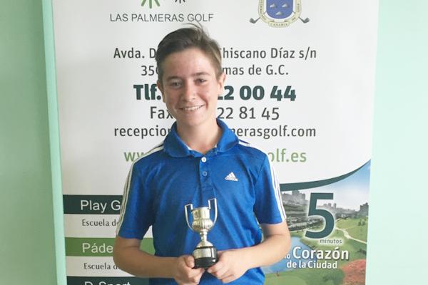 Tomy Artigas campeón en Las Palmeras 2016