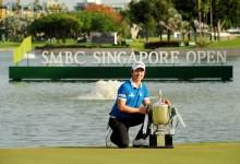 La reanudación del Singapore Open se salda con la victoria de Song. Spieth, subcampeón (Inc. VÍDEO)