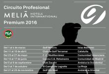 En marcha el I Circuito Profesional Meliá Hotels 2016. Arranca con 7 pruebas de 70.000€ en premios