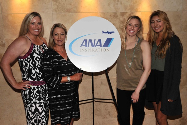 2016 ANA Inspiration launches with LPGA Stars  Paralympian Jessica Long 600