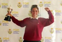 """Ana Peláez: """"Estoy muy contenta por haber ganado en un campazo como Golf Santander"""""""