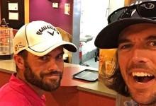 """Los Bryan Bros., festejan por todo lo alto el triunfo de Wesley… en un Taco Bell. """"Jordan, voy a por ti"""""""