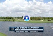 WGC-Cadillac Ch.: Estos fueron los mejores golpes de la primera jornada en el Blue Monster (VÍDEO)
