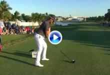 El Golf es duro: Willett tenía opciones de victoria en el 18 pero… El Blue Monster se las tragó (VÍDEO)