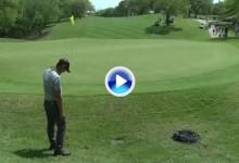 El Golf es duro: Danny Lee concedió el partido a Schwartzel tras pegar este terrible filazo (VÍDEO)