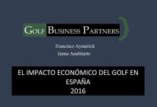 El impacto económico del Golf en España supera los 2 mil millones € anuales según un estudio realizado