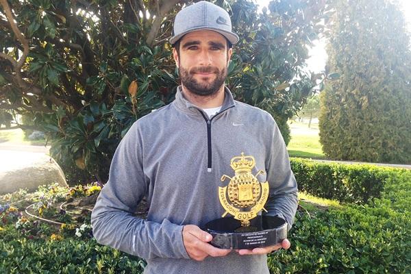 Francisco Lagarto campeon en El Olivar de la Hinojosa