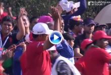 Un golpe de Chawrasia encabeza los cinco mejores golpes en la ronda final del Indian Open (VÍDEO)