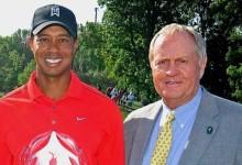 """""""¡Mucha suerte!"""" McIlroy, Day y Nicklaus celebran con alegría la vuelta de Tiger a los campos de golf"""