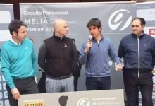 Jordi García del Moral, campeón en Maioris. Es el primer ganador del Circuito Profesional Meliá